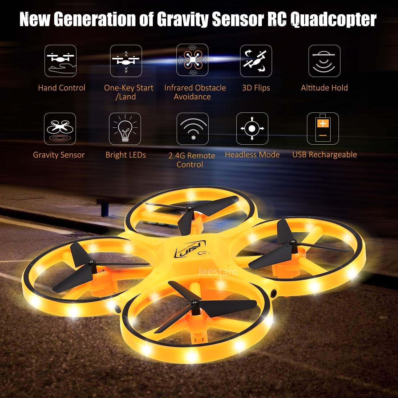 FIREFLY DRONE con sensor de gravedad