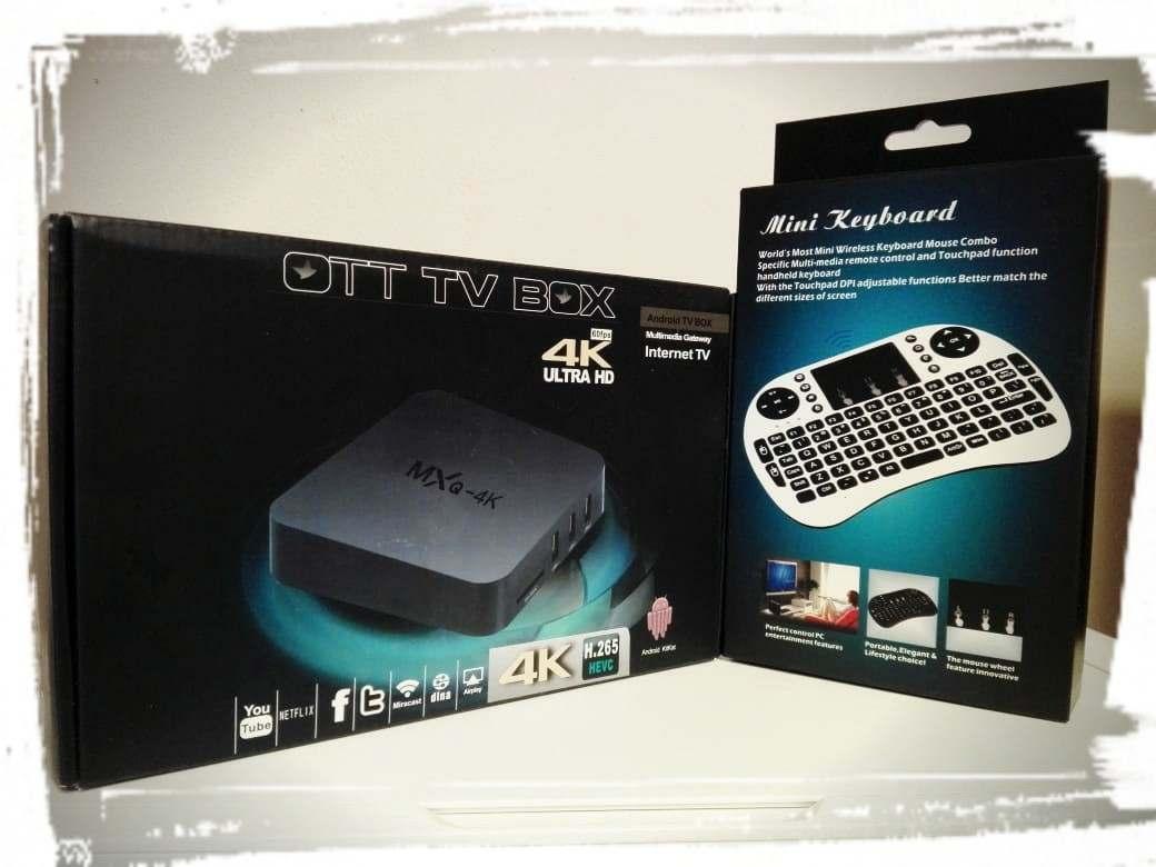 Combo TV-BOX mas TecladoMouse